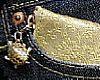 金のスリム財布